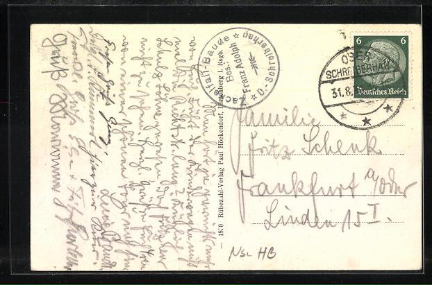 AK Schreiberhau, Josephinenhütte, Zackelfallbaude und Glasbläser-Wegweiser 1