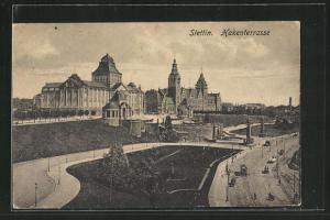 AK Stettin, Hakenterrasse