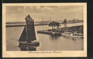 AK Swinemünde, Ausfahrendes Fischerboot