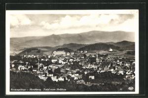 AK Hirschberg / Riesengebirge, Total vom Helikon