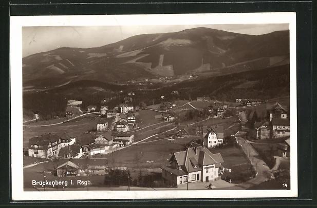 AK Brückenberg im Riesengebirge, Ortsansicht 0