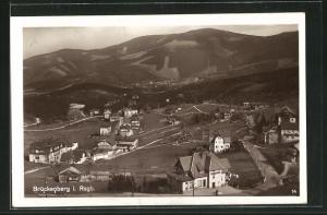 AK Brückenberg im Riesengebirge, Ortsansicht