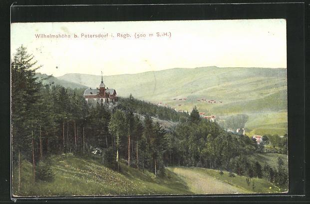 AK Petersdorf im Riesengebirge, Wilhelmshöhe 0