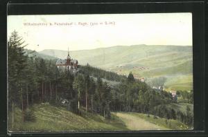 AK Petersdorf im Riesengebirge, Wilhelmshöhe