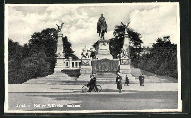 AK Breslau, Kaiser Wilhelm-Denkmal 0