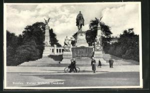 AK Breslau, Kaiser Wilhelm-Denkmal