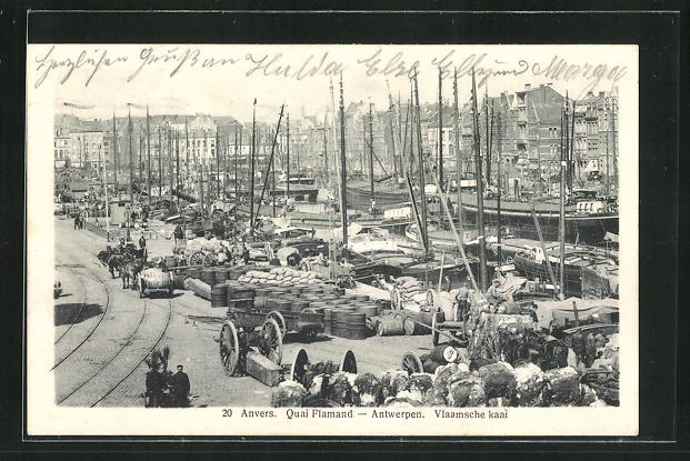 AK Anvers, Quai Flamand 0