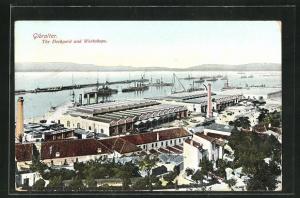 AK Gibraltar, The Dockyard and Workshops