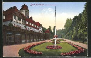 AK Bad Kudowa, Anlagen vor dem Charlottenbad