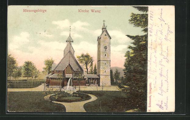 AK Brückenberg, Kirche Wang mit Anlagen 0