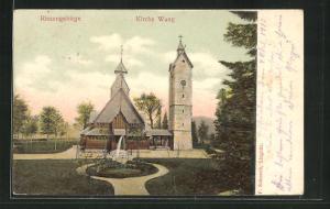 AK Brückenberg, Kirche Wang mit Anlagen
