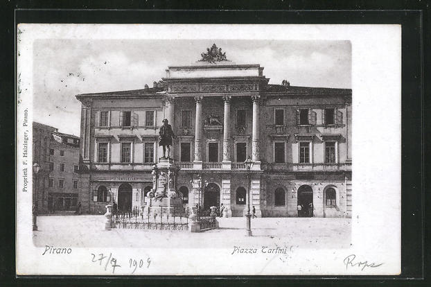 AK Pirano, Piazza Tartini 0