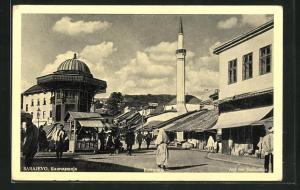 AK Sarajewo, Auf der Bascarsija