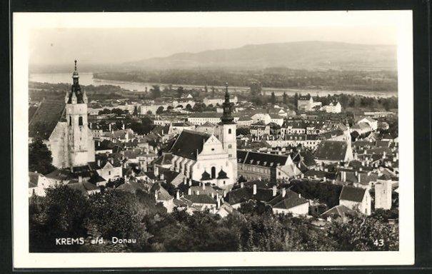 AK Krems a / d. Donau, Teilansicht 0