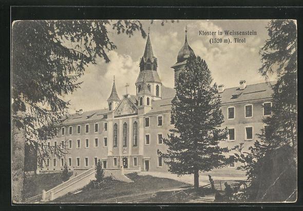 AK Weissenstein, Blick auf das Kloster 0