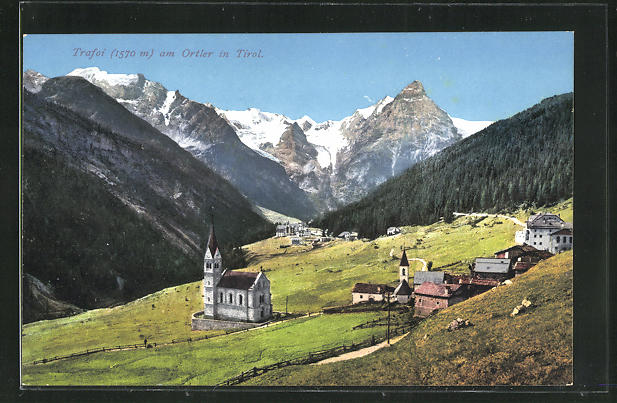 AK Trafoi am Ortler / Tirol, Teilansicht 0