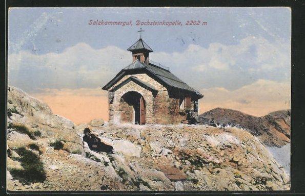 AK Dachsteingebirge, Dachsteinkapelle 0