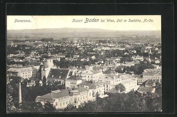 AK Baden, Panorama 0