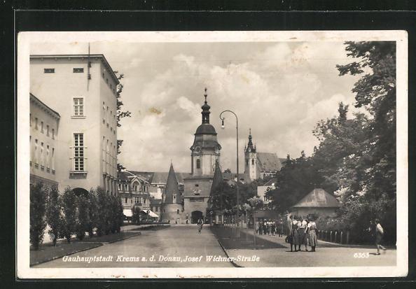AK Krems a.d.D., Stadttor in der Josef Wichner-Strasse 0
