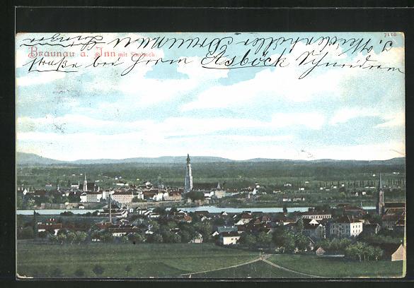 AK Braunau a. Inn, Panorama 0