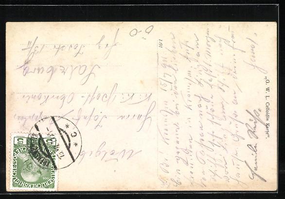 AK Kremsmünster, Ortsansicht mit Stift Kremsmünster 1