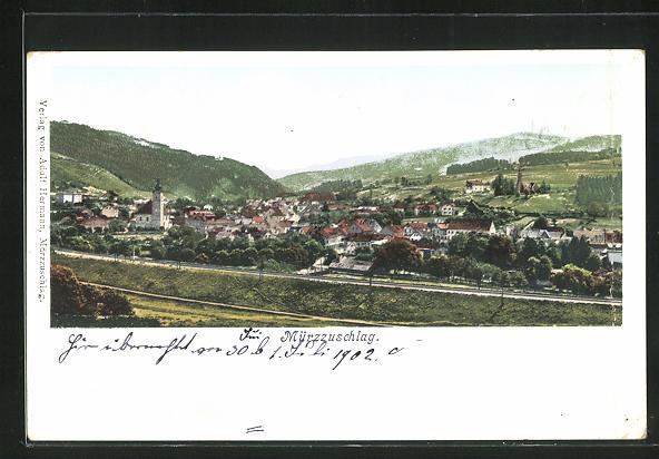 AK Mürzzuschlag, Panorama 0