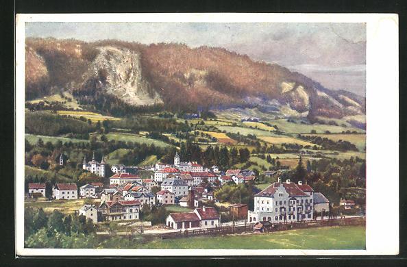 AK Schwarzach-St. Veit a.d. Tauernbahn, Gesamtansicht 0