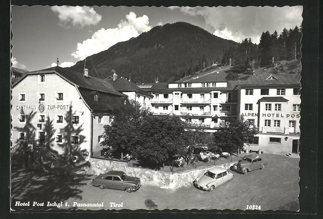 AK Ischgl i. Paznauntal, Gasthaus und Hotel zur Post 0