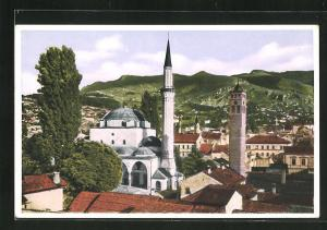 AK Sarajewo, Begova-Moschee im Stadtbild