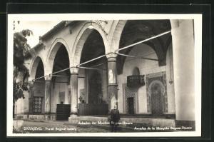 AK Sarajewo, Arkaden der Begova-Moschee
