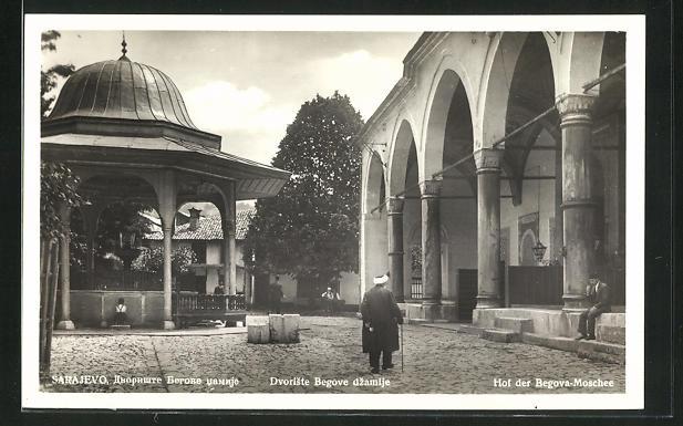 AK Sarajewo, Hof der Begova-Moschee 0