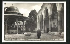 AK Sarajewo, Hof der Begova-Moschee