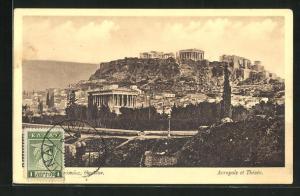 AK Athènes, Acropole et Thésée