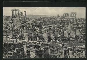 AK Corinthe, Vue générale des Antiquités de vieux Corinthe