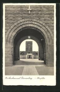 AK Hohenstein, Reichsehrenmal Tannenberg, Haupttor
