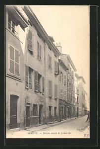 AK Macon, Maison natale de Lamartine