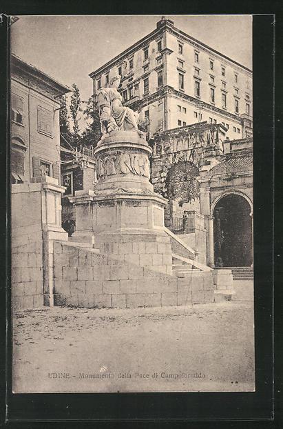 AK Udine, Monumento della Pace di Campoformido 0