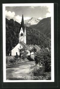AK Campo Tures, La Chiesetta antica S. Maurizio, Val Pusteria