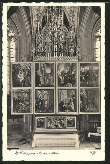 AK St. Wolfgang im Salzkammergut, Pacher-Altar 0