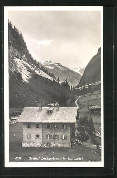 AK Mayrhofen, Gasthof Lacknerbrunn im Stillupptal 0