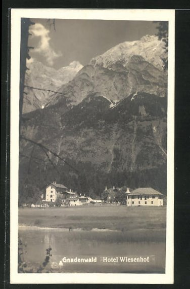 AK Gnadenwald, Hotel Wiesenhof 0