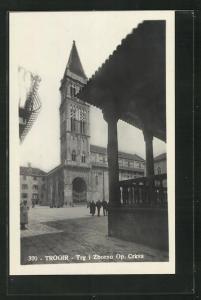 AK Trogir, Trg i Zborno Op. Crkva