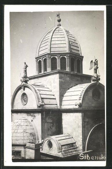 AK Sibenik, Blick auf die Kirche 0