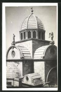 AK Sibenik, Blick auf die Kirche