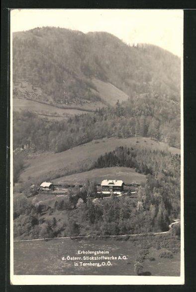 AK Ternberg, Erholungsheim d. österr. Stickstoffwerke AG 0
