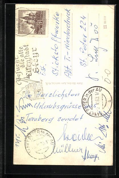 AK Ternberg, Erholungsheim d. österr. Stickstoffwerke AG 1