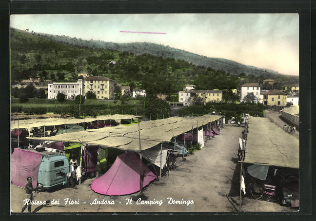 AK Andora, Il Camping Domingo 0