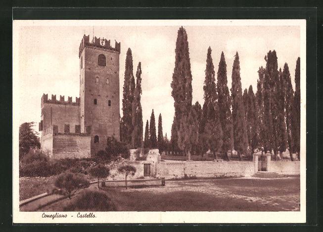 AK Conegliano, Castello, Gesamtansicht 0