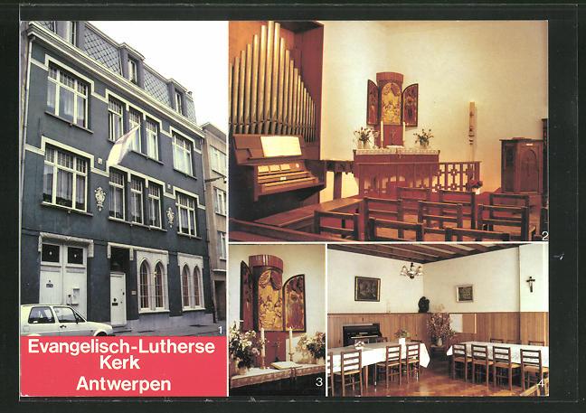 AK Antwerpen, Evangelisch-Lutherse Kerk, Kirche 0
