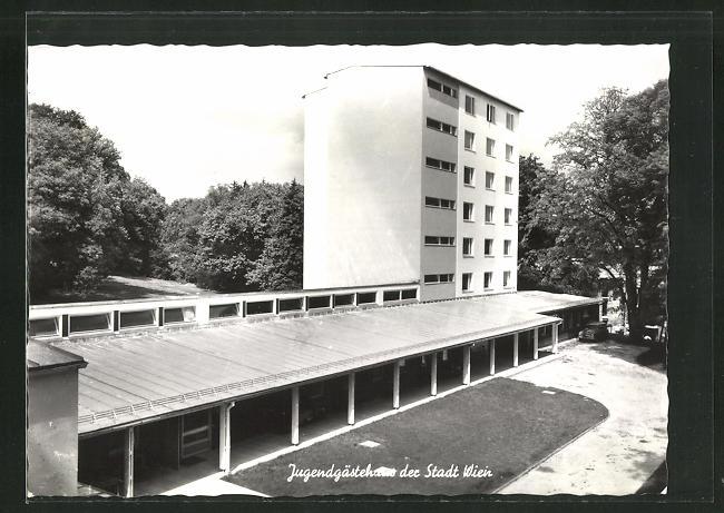 AK Hütteldorf, Jugendgästehaus der Stadt Wien, Schlossberggasse 8 0